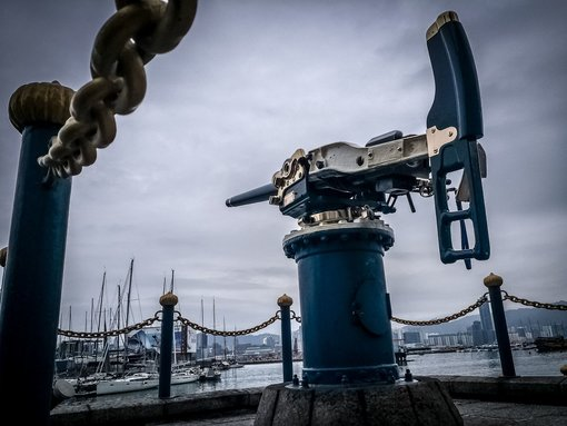 Visiting the Jardine Noonday Gun in Hong Kong