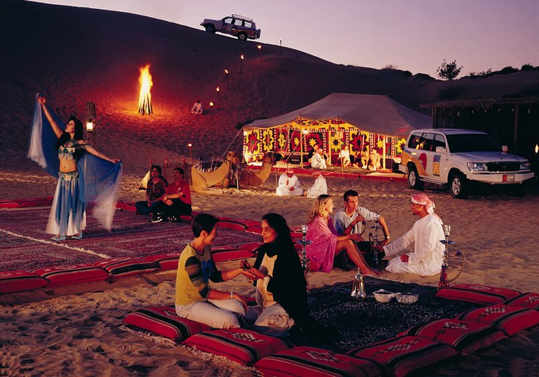 Desert Safari in the Red Dunes in Dubai