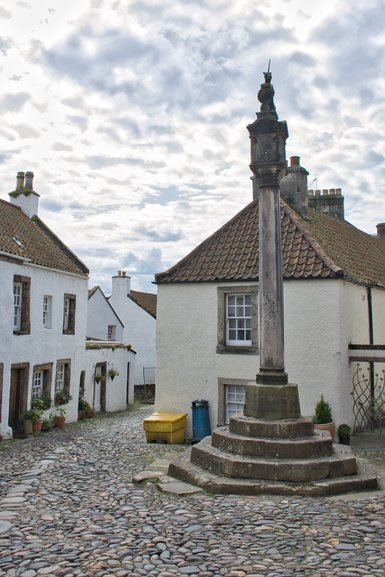 Fans of Outlander will recognise this area of Culross