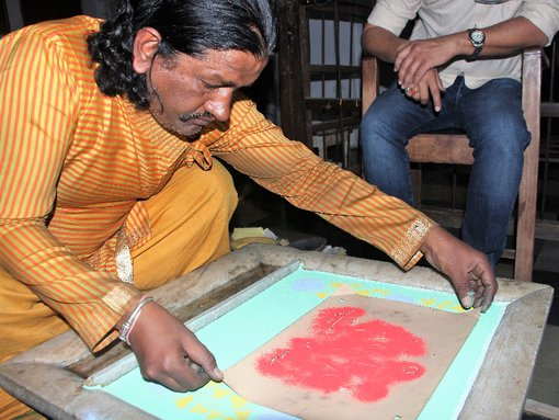 The Idiosyncratic, Vanishing Art of Jal Sanjhi