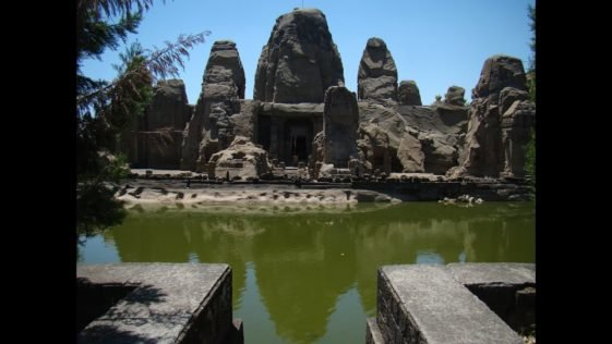 A complex of monolithic rock-cut temples, in shikhara (raising tower) style of classical Indian architectural style, these temples have been dated by historians to be from 6th to 9th century.