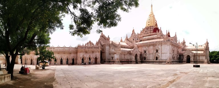 Ananda Temple, one of the most beautiful temples in Bagan