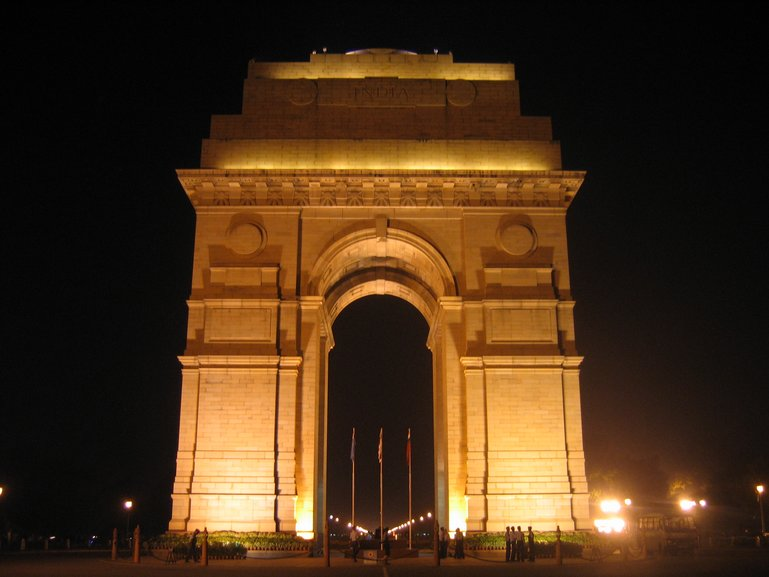 India Gate - New Delhi by Night