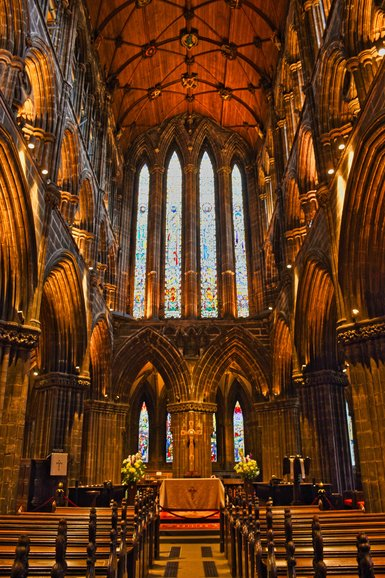 Inside Glasgow Cathedral