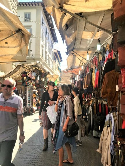 San Lorenzo Market. Guys DO NOT Miss this Market while in Florence