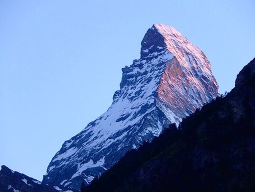 This is the Quietest Corner of the Alps: The Matterhorn