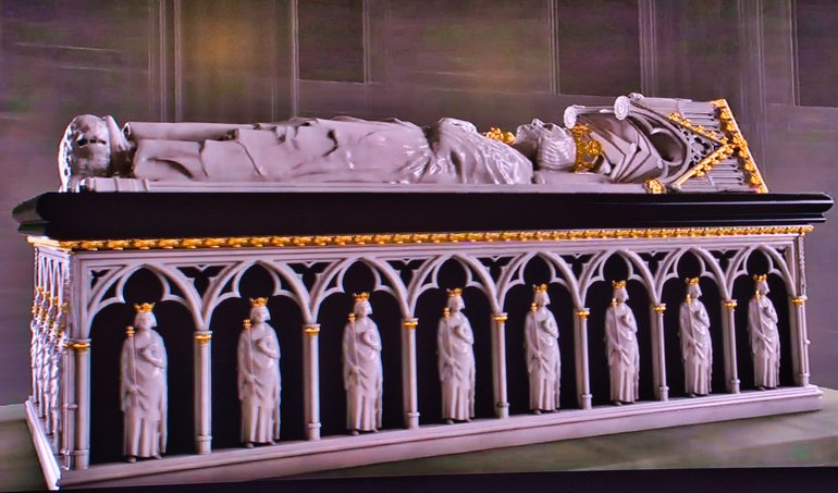 What Robert the Bruce's tomb would have looked like
