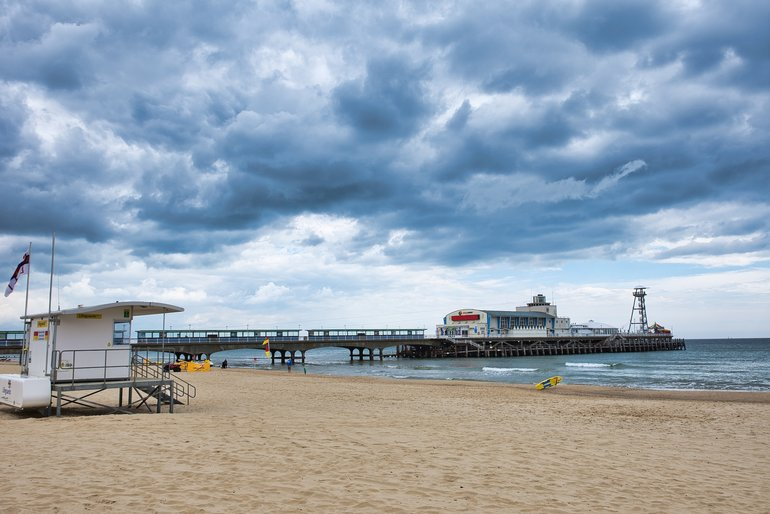 A visit to the beach in Bournemouth is one of the attractions to enjoy on your weekend