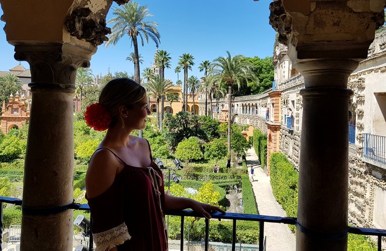 The gardens of Royal Alcazar