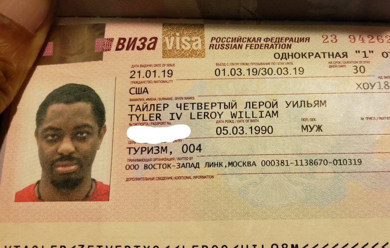 My Russian Visa is valid for 30 days