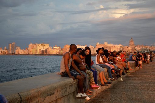 The Malecón is the largest recreational space in Havana