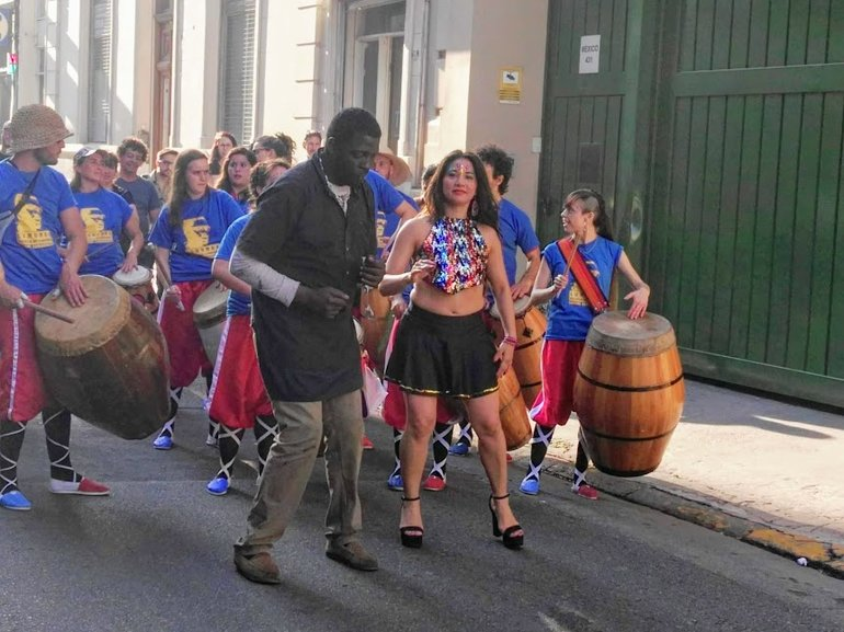 Candombe at San Telmo