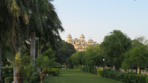 Udaipur City Palace gardens for INR30