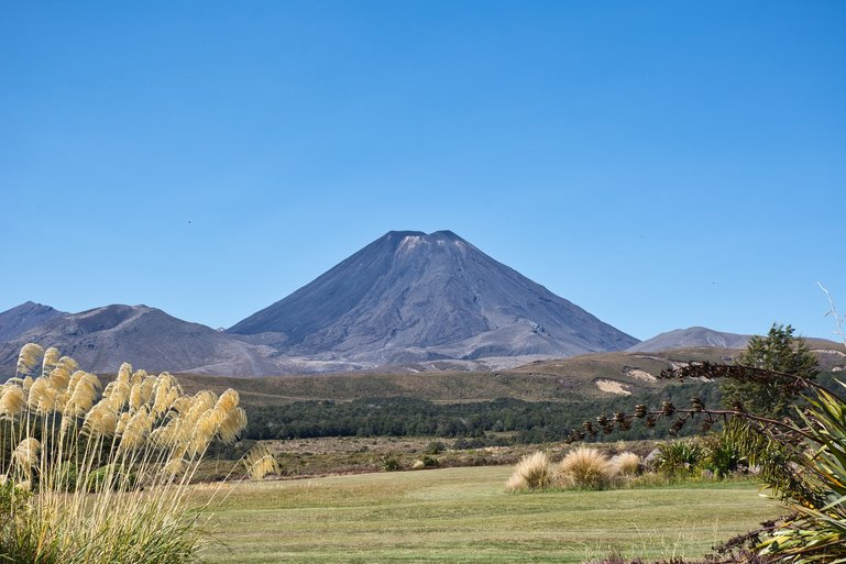 Mt Ngauruhoe from the road