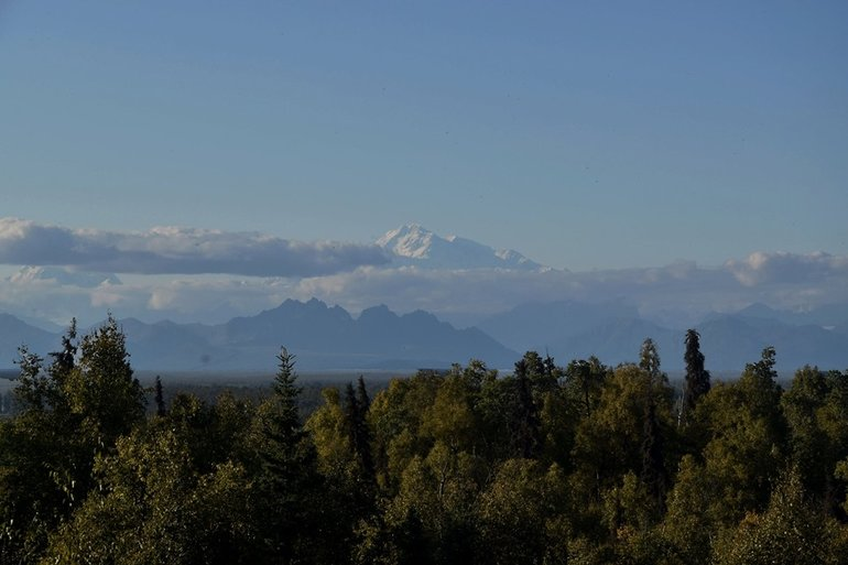 Mt Denali from Talkeetna