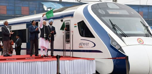 Vande Bharat Express – A Luxurious Ride in India