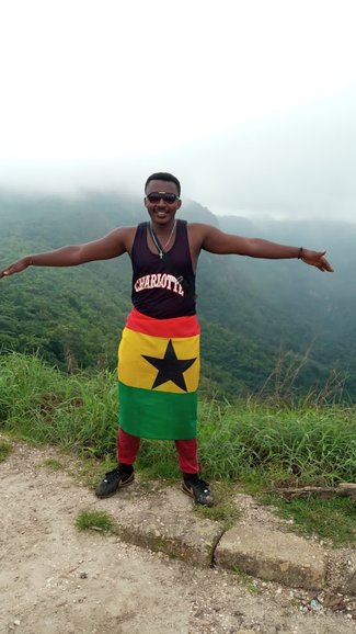 On top of the highest MT. in West Africa. MT. Afadjato