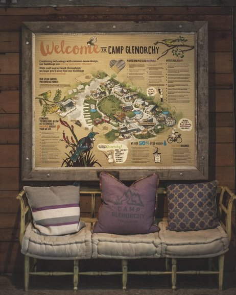 Interior Camp Glenorchy