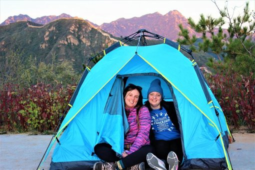 Camping at The Great Wall of China During the Pandemic!