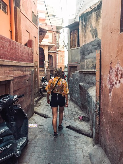 Wandering in the pink streets of Jaipur