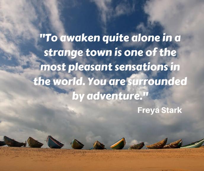 Freya Stark was Italian explorer and travel writer. She wrote more than two dozen books on her travels.