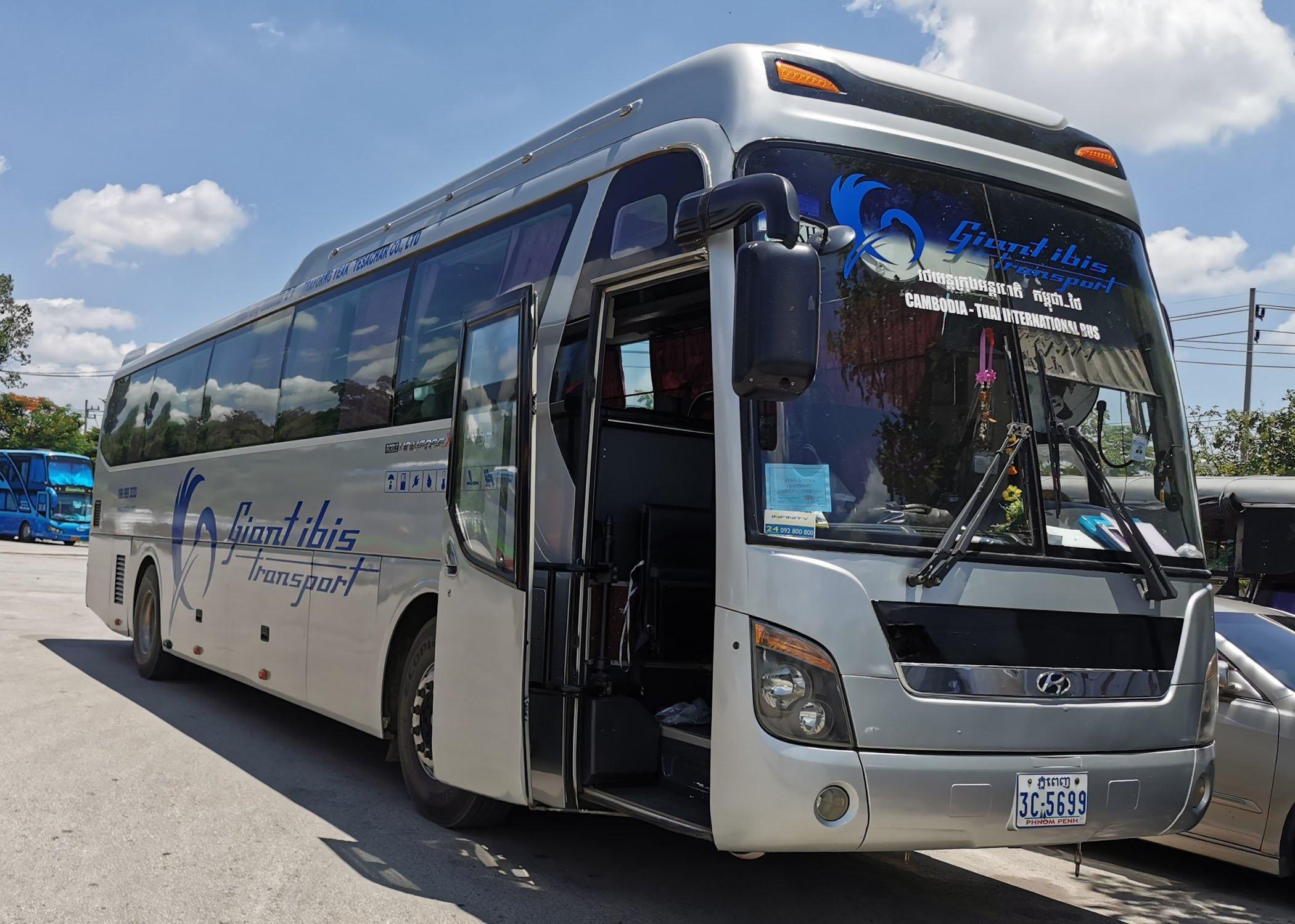 Bangkok to cambodia casino bus unicorn slot machines