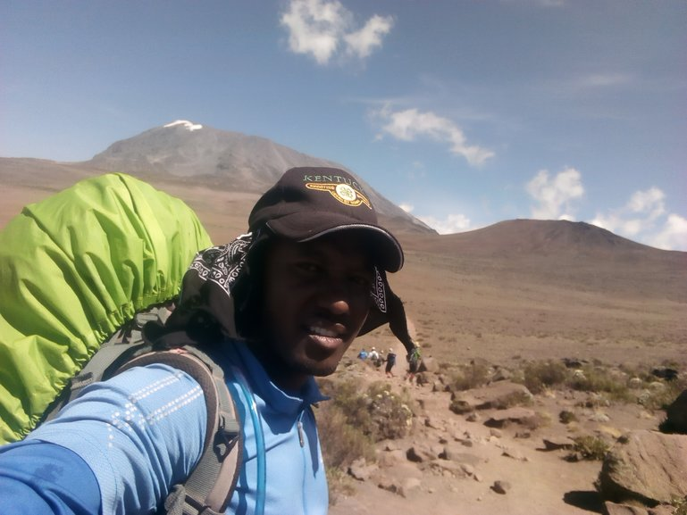 One of the Kilimanjaro Professional Mountain Guide