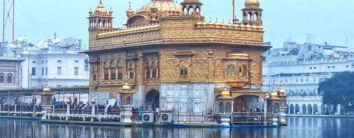 A glimpse of Golden Temple and Wagah Border in Amritsar, India