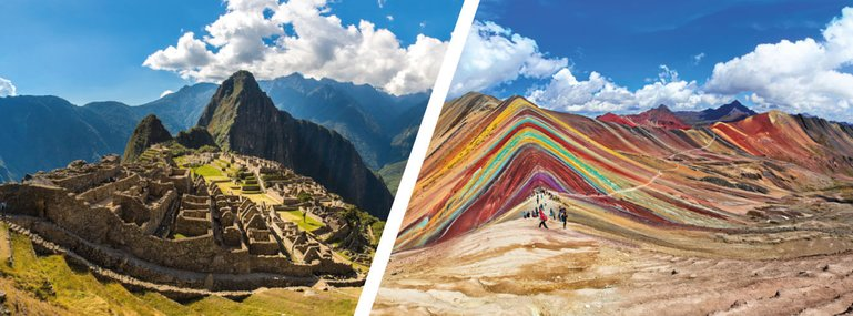 Tour Machu Picchu and Raibow Mountain