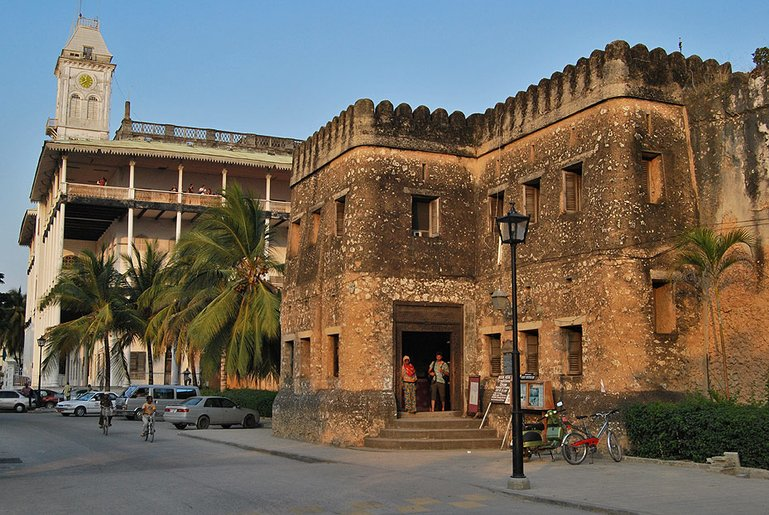 The Old Arab Fort in Stone town
