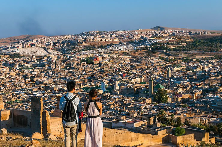 Fes highest view