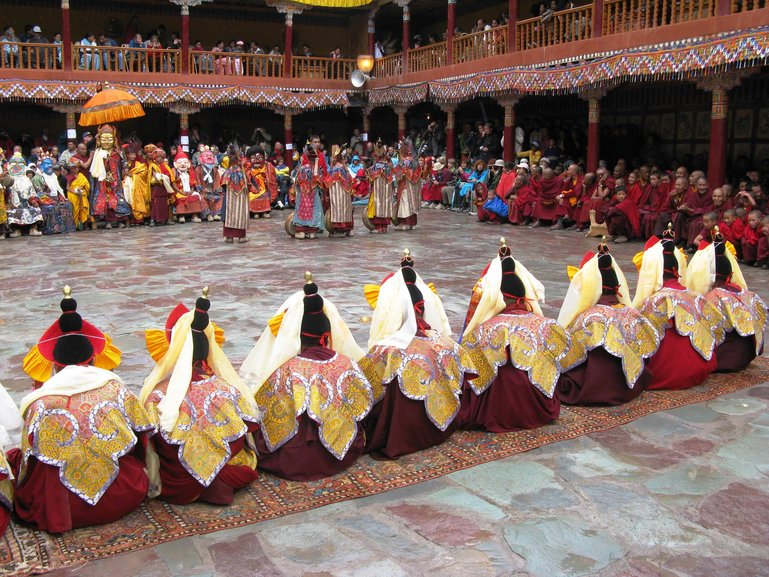 Celebrations in the monastery