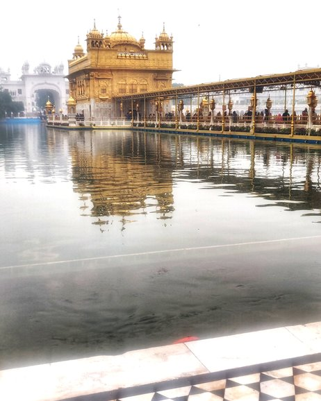 Golden Temple, the crowd and the chants all adds to the beauty of it.