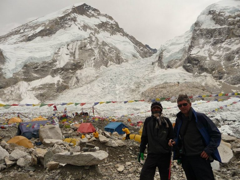 Camp at Everest Base Camp