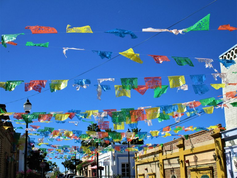 Colourful Todos Santos