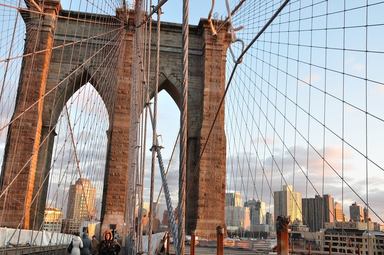 Brooklyn Bridge is one of the best things to do in NYC