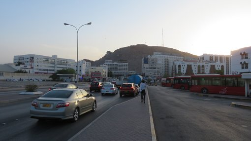 Visiting Muscat without a car