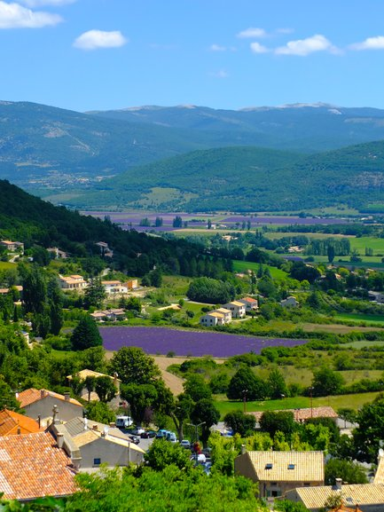 View From Banon, Provence