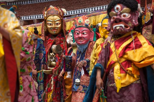 The Spectacular Charm of the Hemis Tsechu Festival