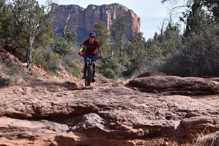 Riding Easy Breezy in Sedona, Arizona