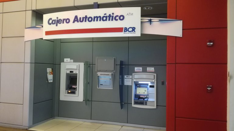 No withdrawal fees for Banco de Costa Rica (BCR)