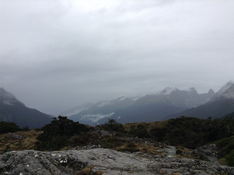 Key Alpine Summit of the Routeburn Track
