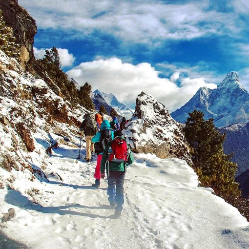 Eco Trekking in the Himalayas of Nepal