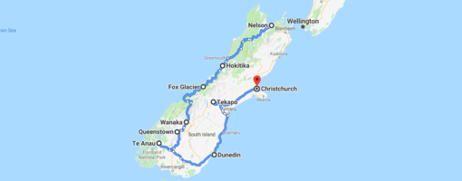 Complete Road Trip Guide for South Island of New Zealand
