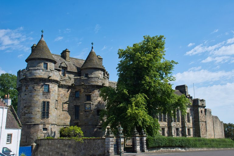 One of the most impressive Palace's in Scotland, Falkland