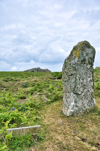 It was first noticed on the 21st Jun 2012, by chance, that there was a midsummer solstice solar alignment. They think this stone may date back to the Bronze Age