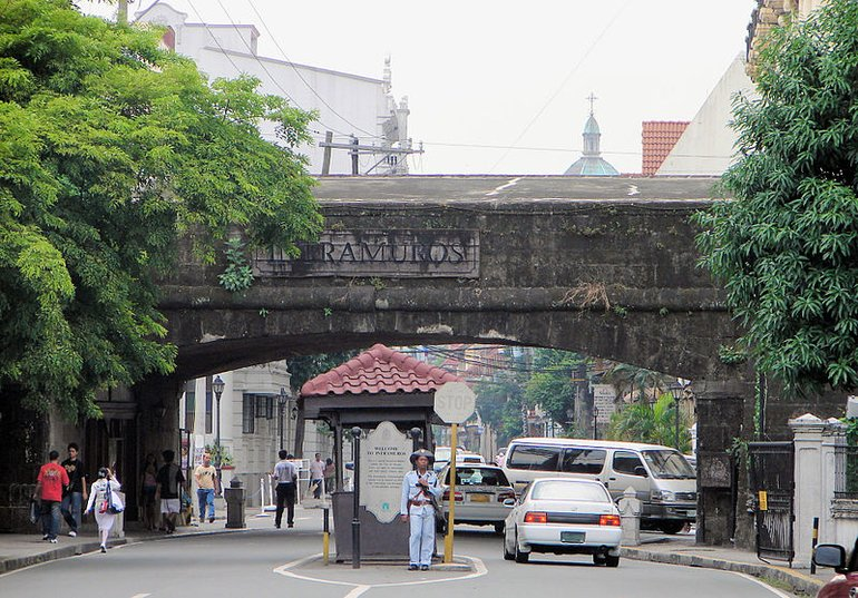 Entrance to Intramuros