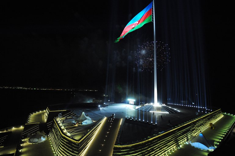 The Flag Square, Azerbaijan