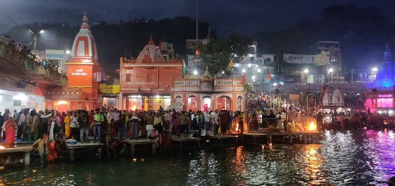 Haridwar in the evening...