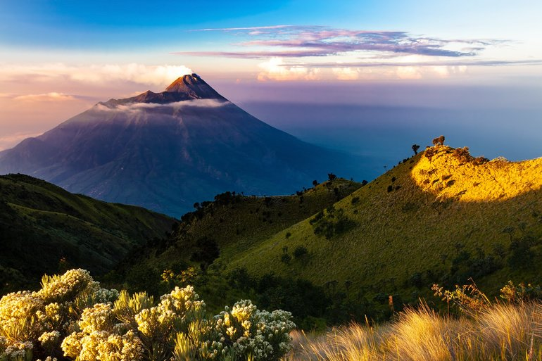 Mount Merapi, Central Java, Indonesia